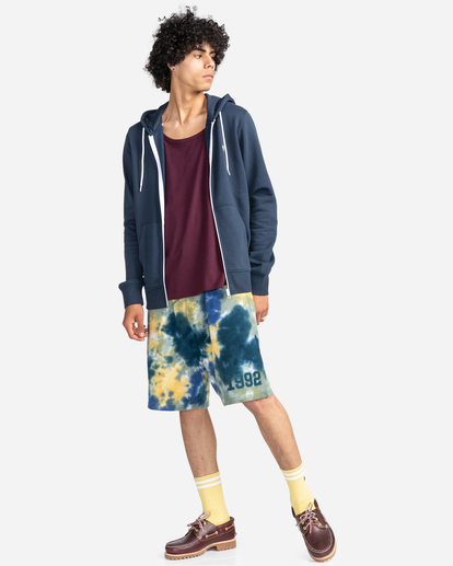 4 Cornell Classic - Zip-Up Hoodie for Unisex Blue W1ZHB4ELP1 Element