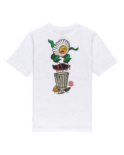 1 Canfield - Camiseta para Chicos Blanco W2SSD6ELP1 Element