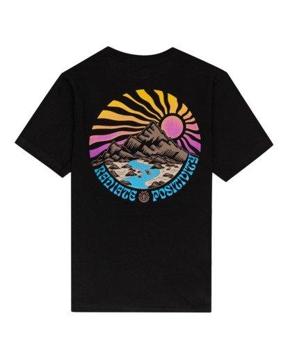 1 Balmore - Camiseta para Chicos Negro W2SSE4ELP1 Element