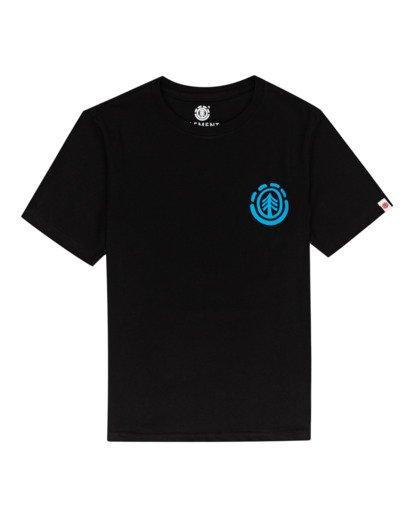 0 Balmore - Camiseta para Chicos Negro W2SSE4ELP1 Element