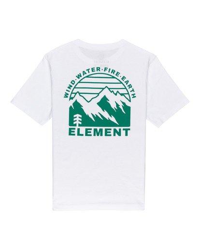 1 Foxwood - Camiseta para Chicos Blanco W2SSE9ELP1 Element