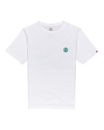 0 Foxwood - Camiseta para Chicos Blanco W2SSE9ELP1 Element