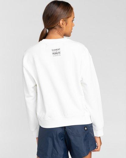 1 Peanuts Element - Sweatshirt für Frauen Weiss W3CRA3ELP1 Element