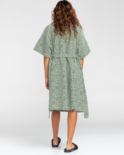 2 Tamlyn - Robe chemise oversize pour Femme Blanc W3DRB9ELP1 Element