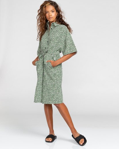 0 Tamlyn - Robe chemise oversize pour Femme Blanc W3DRB9ELP1 Element
