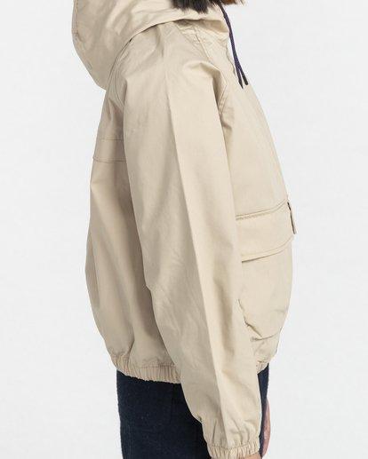 4 Wolfeboro Sashay Light - Water Resistant Jacket for Women Beige W3JKA3ELP1 Element