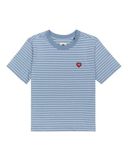 0 Paula - Camiseta para Mujer Azul W3KTB2ELP1 Element