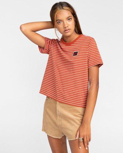 1 Paula - Camiseta para Mujer Multicolor W3KTB2ELP1 Element