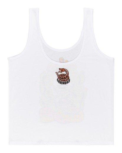 0 Timber! Pick Your Poison Low - Camiseta sin Mangas para Mujer Blanco W3SGA5ELP1 Element