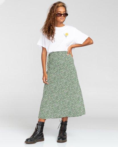 0 Janis - Jupe portefeuille pour Femme Blanc W3SKA1ELP1 Element