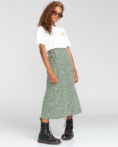 1 Janis - Jupe portefeuille pour Femme Blanc W3SKA1ELP1 Element