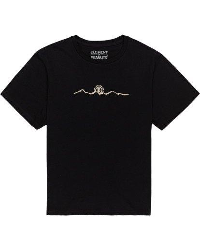 0 Peanuts Trekking - T-Shirt für Frauen Schwarz W3SSB4ELP1 Element