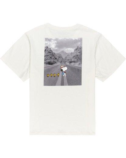 1 Peanuts Adventure - Camiseta para Mujer Blanco W3SSB5ELP1 Element