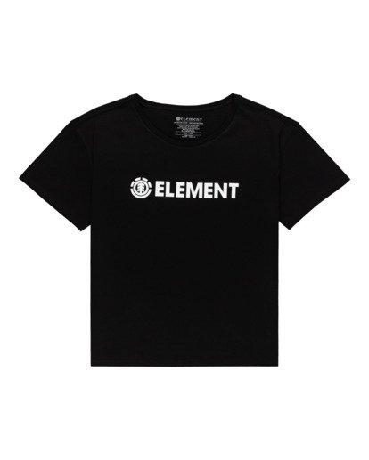 0 Element Logo - Maglietta da Donna Black W3SSB7ELP1 Element