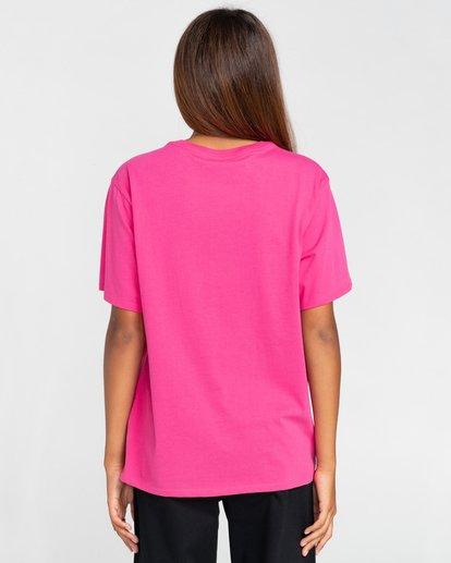 2 Element Logo - T-shirt pour Femme Rouge W3SSB7ELP1 Element