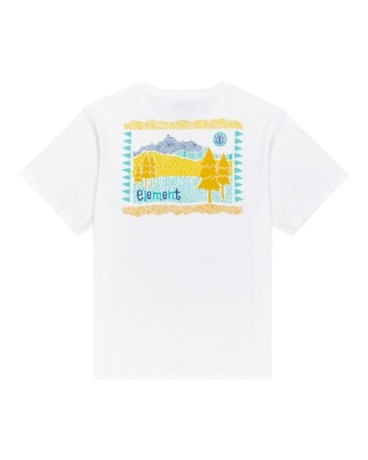 1 Walk About - Camiseta para Mujer Blanco W3SSB9ELP1 Element
