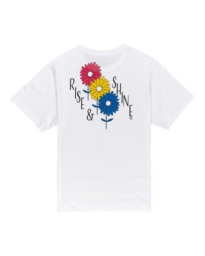 1 Rise And Shine - Camiseta para Mujer Blanco W3SSC1ELP1 Element