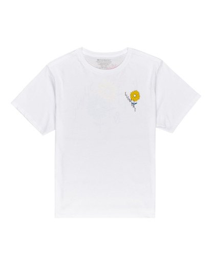 0 Rise And Shine - Camiseta para Mujer Blanco W3SSC1ELP1 Element