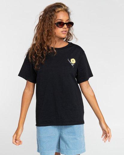 0 Rise And Shine - Camiseta para Mujer Negro W3SSC1ELP1 Element