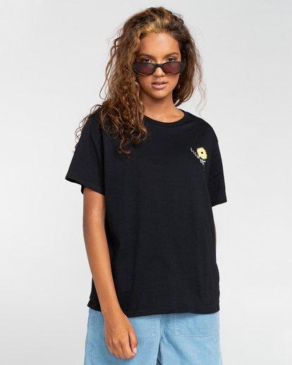 1 Rise And Shine - Camiseta para Mujer Negro W3SSC1ELP1 Element