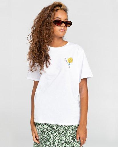 2 Rise And Shine - Camiseta para Mujer Blanco W3SSC1ELP1 Element