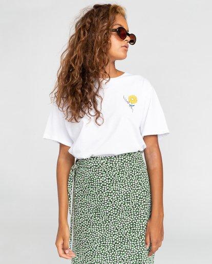 3 Rise And Shine - Camiseta para Mujer Blanco W3SSC1ELP1 Element