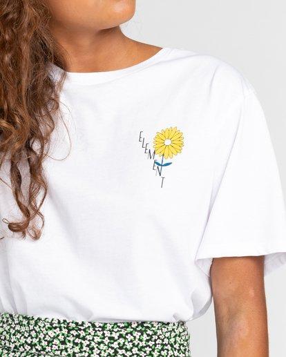 4 Rise And Shine - Camiseta para Mujer Blanco W3SSC1ELP1 Element