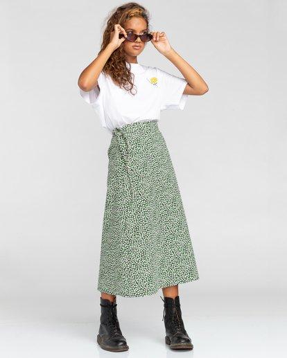 5 Rise And Shine - Camiseta para Mujer Blanco W3SSC1ELP1 Element