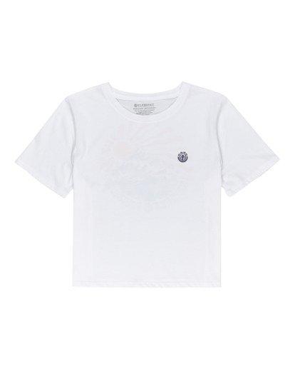 0 Positivity Crop - Camiseta para Mujer Blanco W3SSC4ELP1 Element