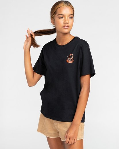 2 Timber! Pick Your Poison - Camiseta para Mujer Negro W3SSC7ELP1 Element