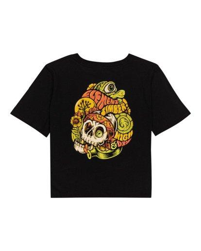 1 Timber! The Vision Crop - T-Shirt für Frauen Schwarz W3SSC8ELP1 Element
