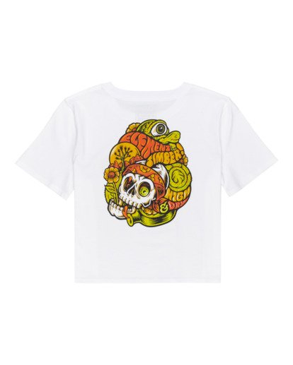 1 Timber! The Vision Crop - Camiseta para Mujer Blanco W3SSC8ELP1 Element
