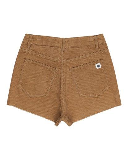 """1 Andersen 15"""" - Shorts mit hohem Bund für Frauen Grau W3WKB6ELP1 Element"""