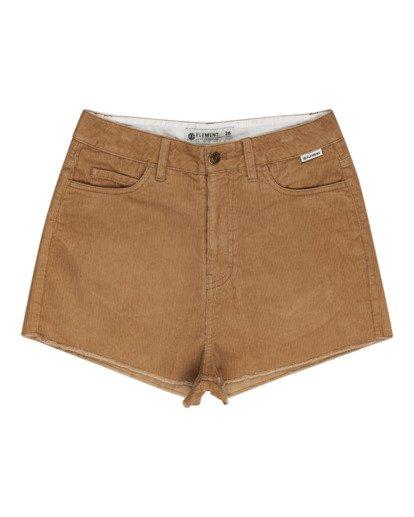"""0 Andersen 15"""" - Shorts mit hohem Bund für Frauen Grau W3WKB6ELP1 Element"""