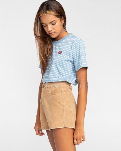 """3 Andersen 15"""" - Shorts mit hohem Bund für Frauen Grau W3WKB6ELP1 Element"""