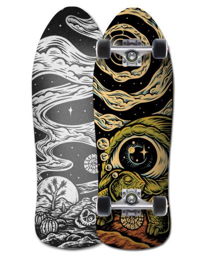 "0 8.75"" Timber High Dry - Skateboard Black W4CPA2ELP1 Element"