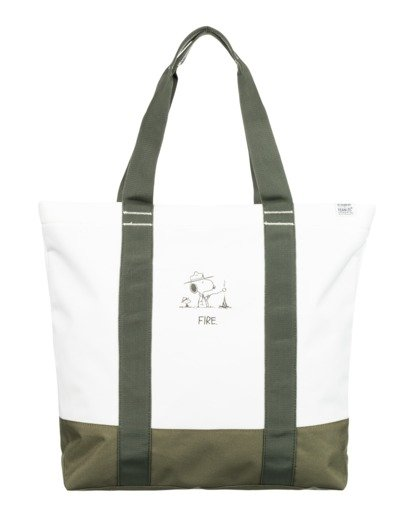 1 Peanuts Carrier 20L - Bolsa de tela para Hombre Blanco W5BGA2ELP1 Element
