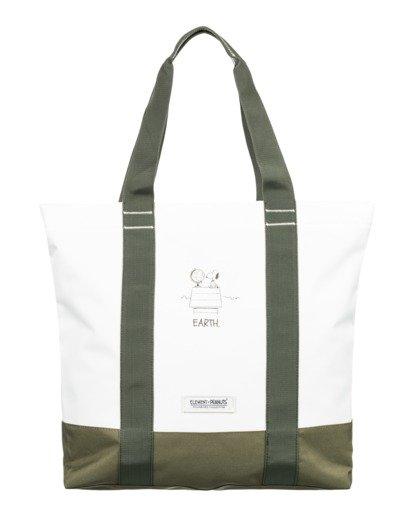 0 Peanuts Carrier 20L - Bolsa de tela para Hombre Blanco W5BGA2ELP1 Element