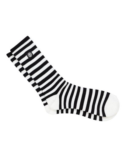 0 Resplend - Chaussettes de skate pour Homme Noir W5SOA3ELP1 Element