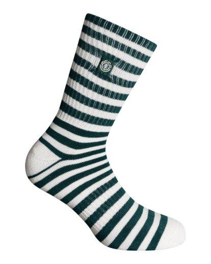 0 Resplend - Chaussettes de skate pour Homme Vert W5SOA3ELP1 Element