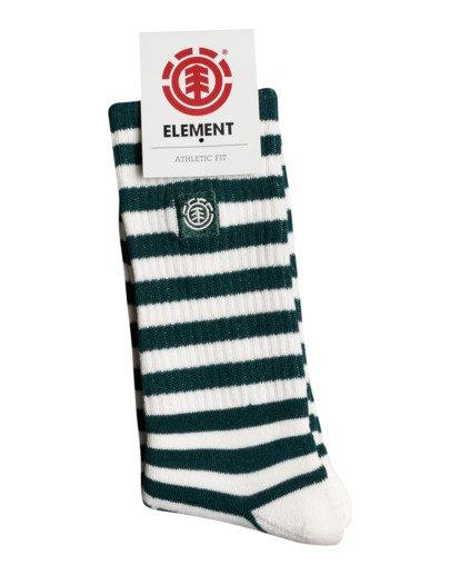 1 Resplend - Chaussettes de skate pour Homme Vert W5SOA3ELP1 Element