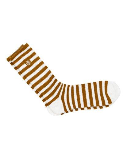 0 Resplend - Chaussettes de skate pour Homme Gris W5SOA3ELP1 Element