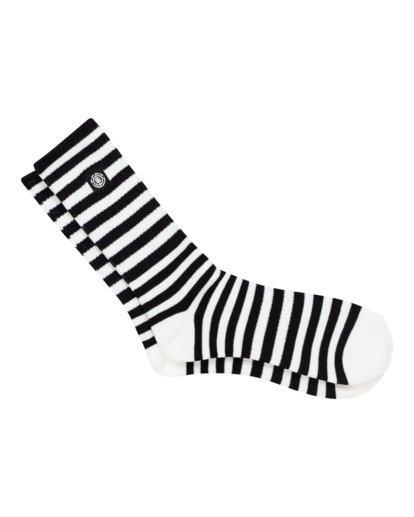 1 Resplend - Chaussettes de skate pour Homme Noir W5SOA3ELP1 Element