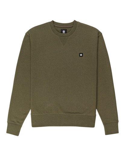 0 92 - Sweatshirt for Men Green Z1CRC1ELF1 Element