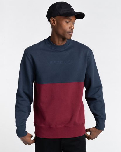 1 Bryne - Sweatshirt for Men Blue Z1CRC2ELF1 Element