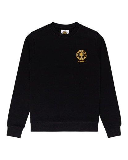 0 Rotation - Sweatshirt for Men Black Z1CRC5ELF1 Element