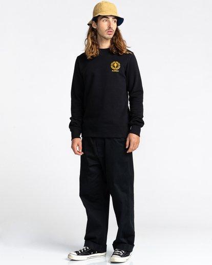3 Rotation - Sweatshirt for Men Black Z1CRC5ELF1 Element