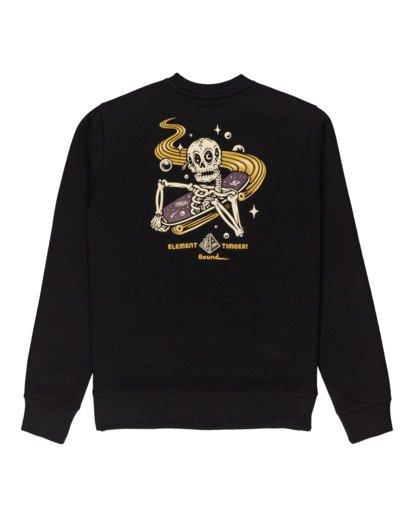 1 Transender - Sweatshirt for Men Black Z1CRC6ELF1 Element