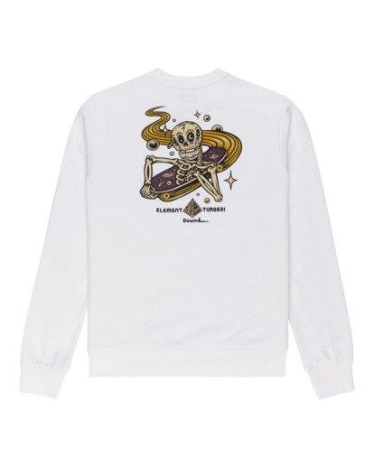 1 Transender - Sweatshirt for Men White Z1CRC6ELF1 Element