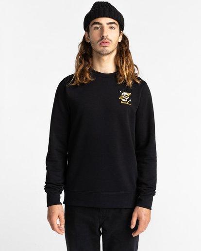 2 Transender - Sweatshirt for Men Black Z1CRC6ELF1 Element